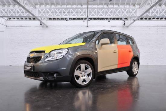 Pisani Chevrolet orlando na London design festivalu