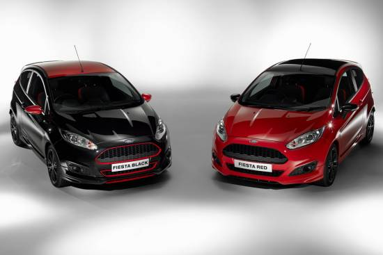 Ford fiesta Red Edition in Black Edition