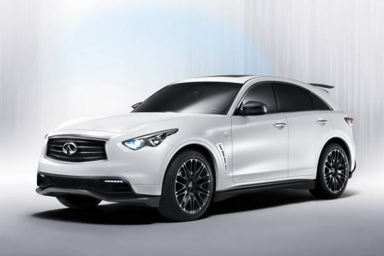 Infiniti FX performance koncept, napoved