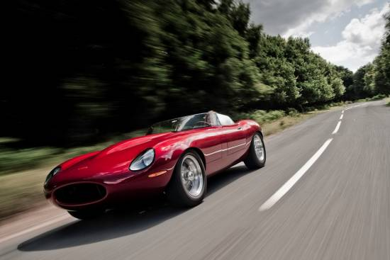 Jaguar E-type speedster lightweight
