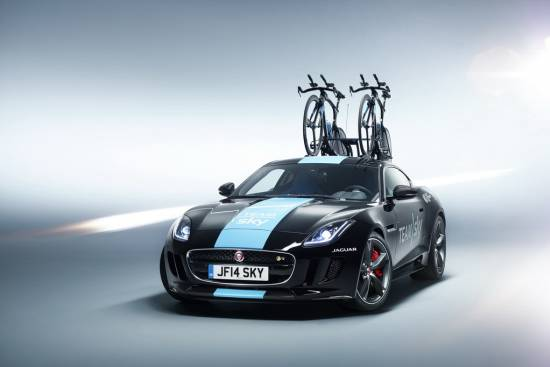 Jaguar F-type concept Team Sky