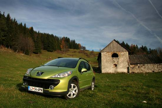 Peugeot 207 SW 1,6 16v HDI outdoor