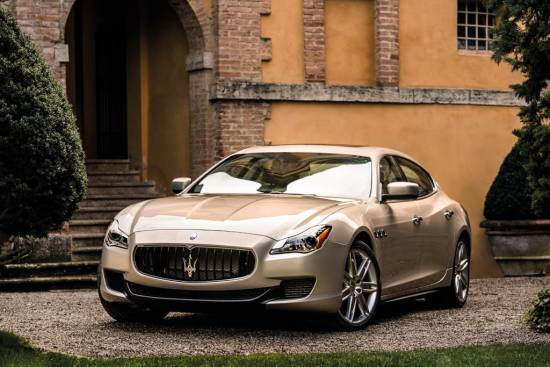 Maserati quattroporte prejel priznanje Best of the Best Sedan