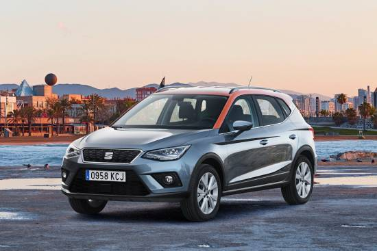 SEAT arona prejela nagrado Red Dot Award: Product Design 2018