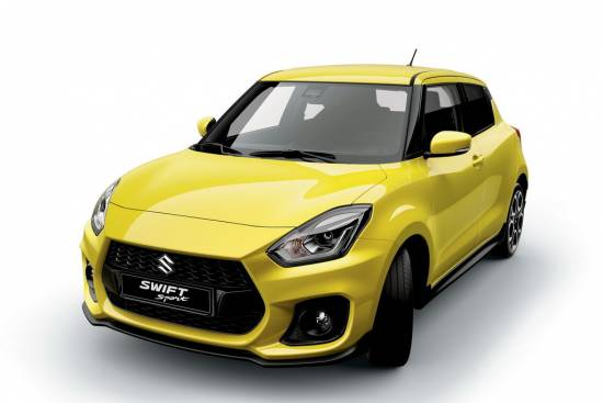 Suzuki swift sport – napoved