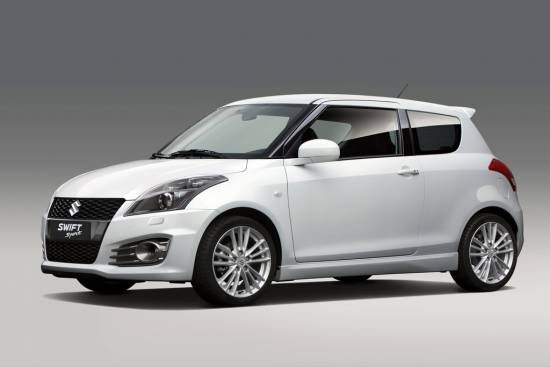 Suzuki swift sport, prenova